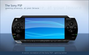 PSP in Vector - Realistic v2 by TebgDoran