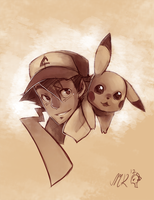 Ash Ketchum by BloodnSpice