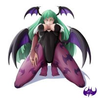 Morrigan Aensland by VozGris