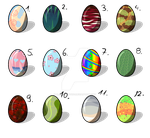 Egg Adopts -open- by BlackAdopts93