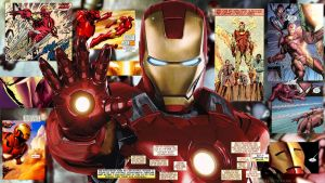 Iron Man Comic Wallpaper 1080p by SKstalker