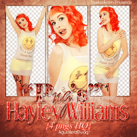 Hayley Williams png pack by MickiMonster