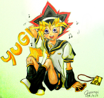 BECAUSE YUGI HAS TO BE LEN by Jyonrai