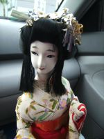 vintage maiko doll by curlytopsan