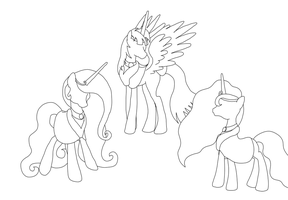 Royal Family lines by phallen1