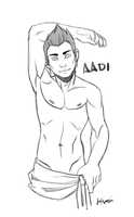 Aadi by morebodyparts