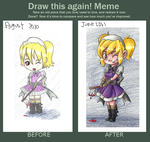Draw This Again Meme by taylor-catgirl