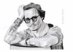 Johnny Depp - LA 2011 - 5 by shaman-art