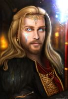 First Enchanter Anders (Justice) by Aranict