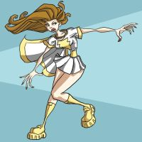 Mary Marvel by The-Mirrorball-Man