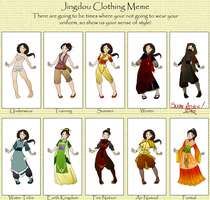 Jing Dou Clothing Meme by phr34kish