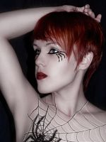 Body Art/ Spider_2 by Asteri-A
