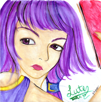 FE8: Lute by kageshoujo