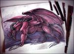 Ancient Red Dragon (Dungeons and Dragons) by newfka