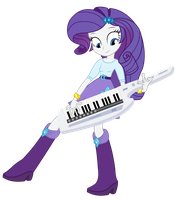 Rarity with keytar by negasun