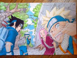 Naruto Group by Elrick87