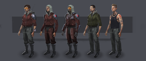 Sci-Fi rebels concepts by TDSpiral