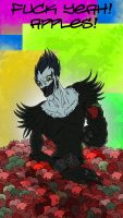 Ryuk Fucking Loves Apples by Cannibal-Cartoonist