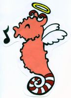 The Peppermint Seahorse by NicoSchmiko