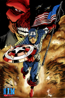 Captain America by NimeshMorarji