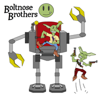 Boltnose Brothers by Riptor25