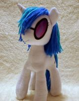 Vinyl Scratch Plushie v5 by DogerCraft