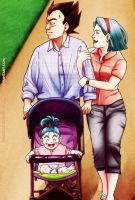 DBZ Collab: Family by carapau