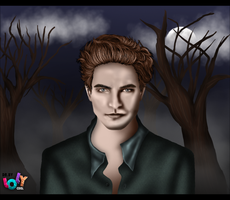 Edward Cullen by OrchidGrpahics
