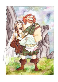 Elinor and Fergus Wedding! by Teodora85
