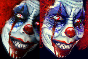 killer Klown by ARTSIE-FARTSIE-PAINT