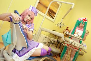 Vocaloid Love Ward - Luka Miku by Xeno-Photography