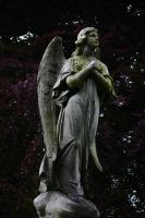 Angel monument stock by rustymermaid-stock