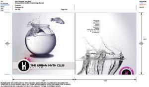the urban myth club CD design by shankonator