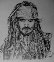 Cpt. Jack Sparrow by Szetyi