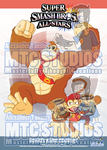 Super Smash Bros poster 2 - Donkey Kong PREV by MTC-Studio