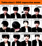 Kageyama's expressions (lol nope) by timii95