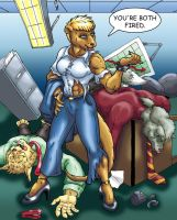 COMMISSION SADIE by Eggplantm