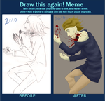 Suicide Ambition Redraw Meme by Capricious-Spider