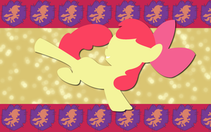Adorable Apple Bloom WP by AliceHumanSacrifice0