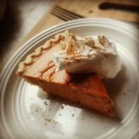 pumpkin pie. by sorekara