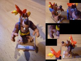 Banjo and Kazooie Figurine by Jelle-C