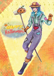 Happy Halloween - Aoba DMmd - by KiraiRei