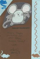 Mouse Bday card by MaguschildCloud