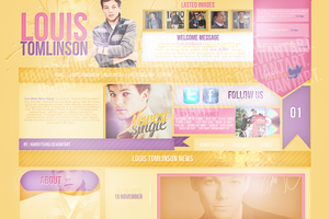 Louis Tomlinsonlayout by harrything