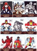 IronMan 2 Sketch Cards 4 by OptimusPraino