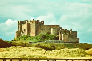 Bamburgh Castle VII by scribbleXcore