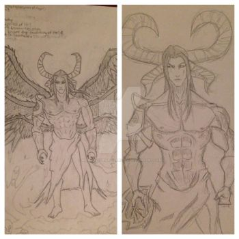 2013-2016 Re-Sketch by MichaeltheArchangel1