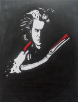 Johnny Depp as Sweeney Todd by Bee-Minor