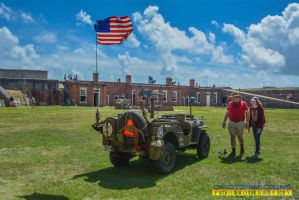 World War II Jeep at Fort May 28, 2016 by ENT2PRI9SE