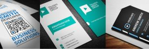 Corporate Business Cards Bundle #5 by nazdrag